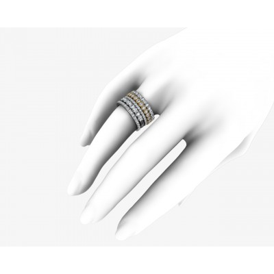 Nicole Eternity diamond band